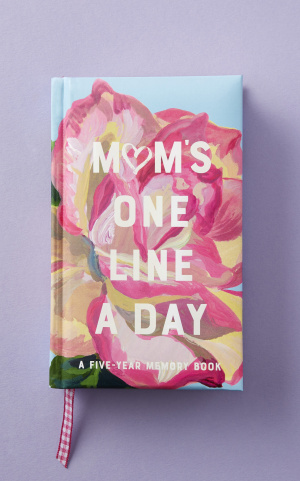 мини тефтер: MUM'S FLORAL ONE LINE A DAY